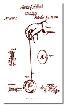 Yoyo patent, 1886